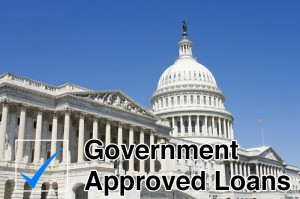 home loans approved by government