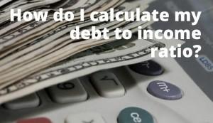 calculate dti ratio